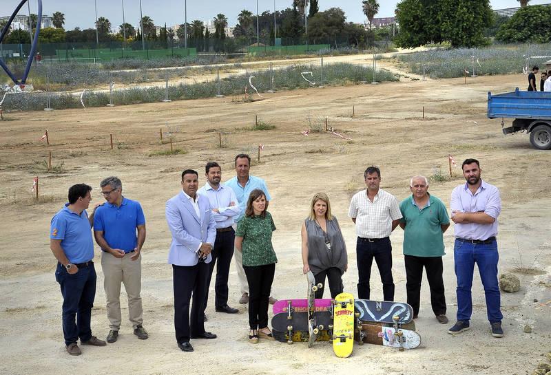 El Ayuntamiento inicia las obras del 'Centro Skate-Park Chapín' que será referente en Andalucía