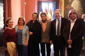 Foto Archivo. Alcaldesa con María del Mar Moreno Premio Ciudad de Jerez