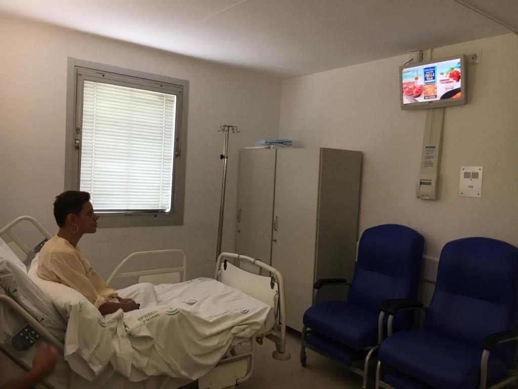 El Hospital de Jerez ya cuenta con televisión gratis en sus habitaciones