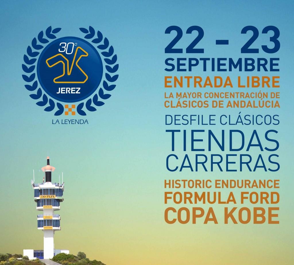 En septiembre, el Festival de Clásicos Jerez30 La Leyenda y el FIM CEV Repsol inauguran la 2ª parte de la temporada de competición en el circuito