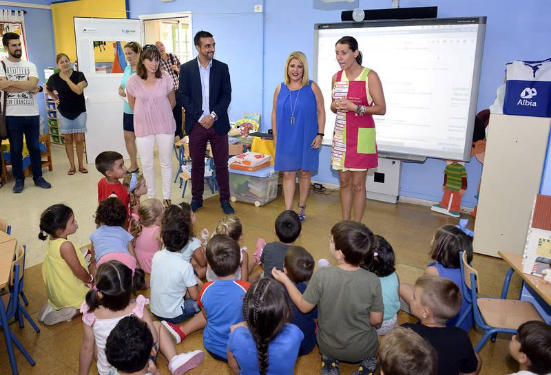 Los alumnos jerezanos regresan a clase