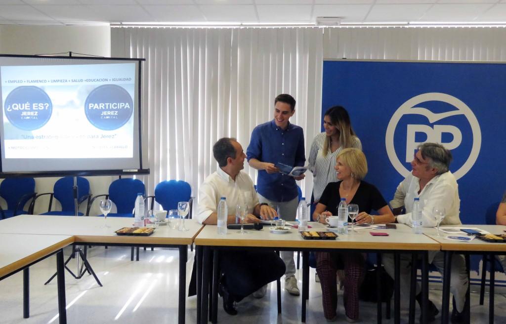 El PP presenta la campaña 'JerezCappital'
