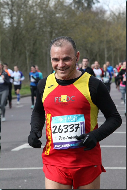 Un corredor jerezano ciego y su guía participarán en el Bilbao Nigt Marathon