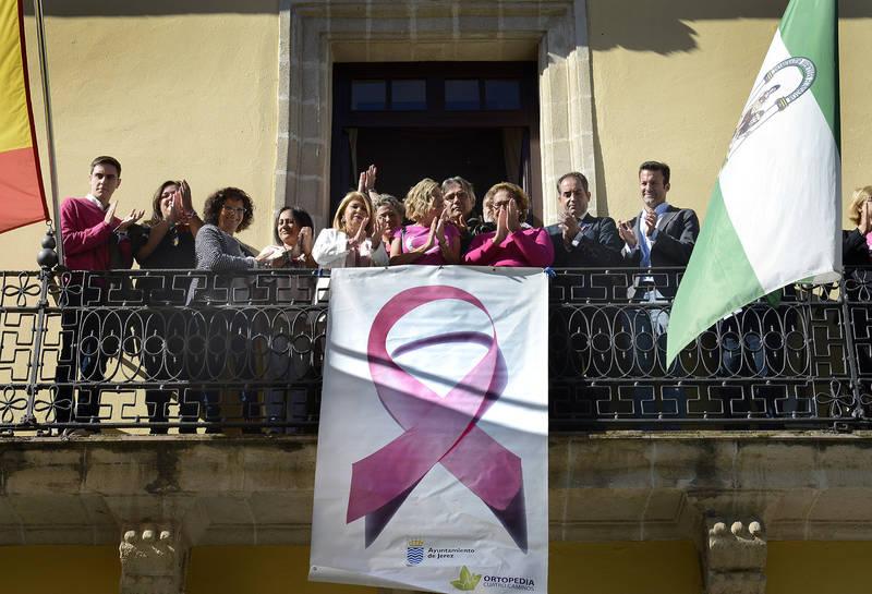 Jerez se suma a los actos del Día mundial contra el Cáncer de Mama