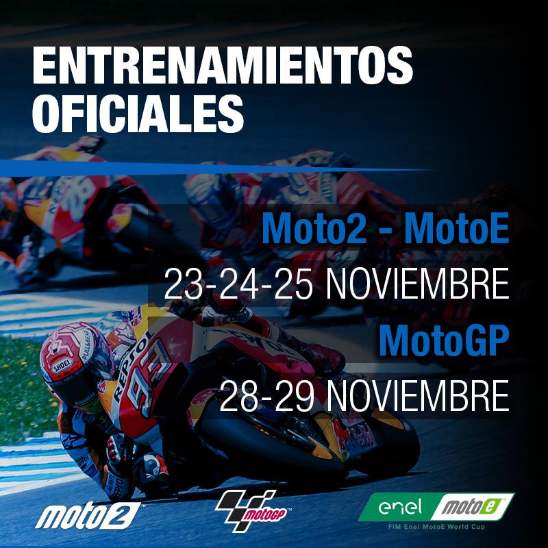 El Circuito de Jerez Ángel Nieto, banco de pruebas en noviembre del Campeonato del Mundo de MotoGP