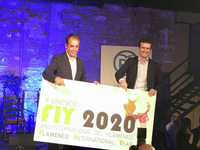 Pablo Casado apoya en Jerez el Año Internacional del Flamenco 2020
