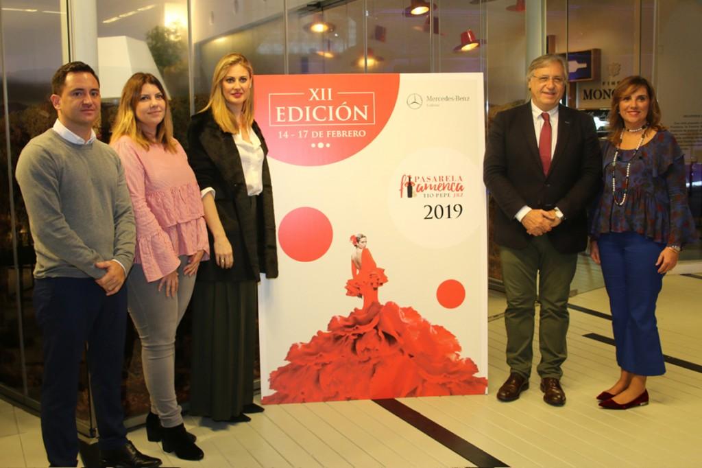 Del 14 al 17 de febrero se celebrará la pasarela Flamenca Jerez-Tío Pepe 2019