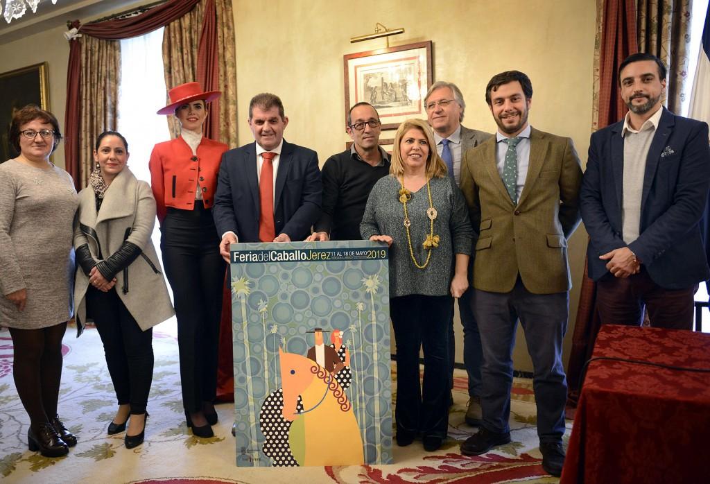 Presentado el cartel de la Feria del Caballo