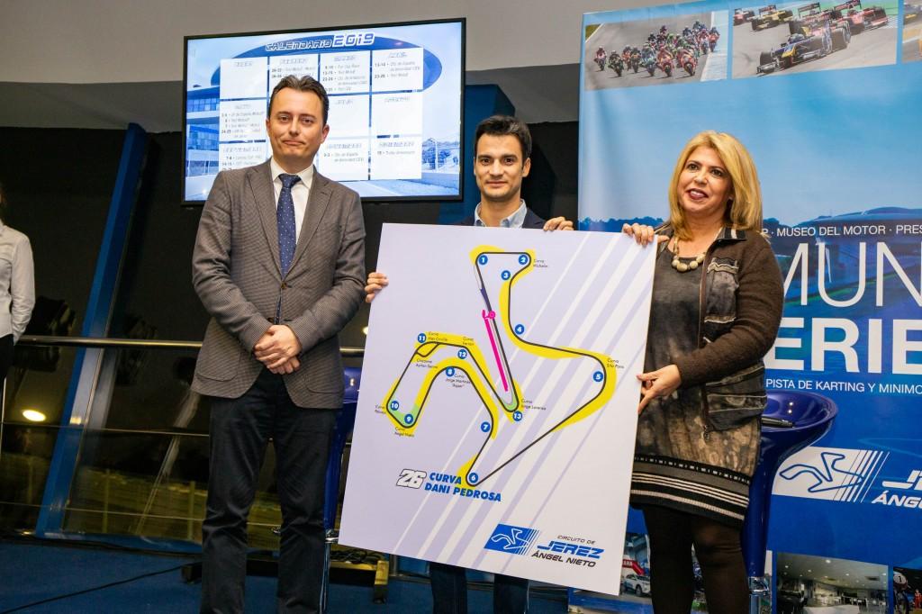 Dani Pedrosa tendrá una curva en el Circuito de Jerez