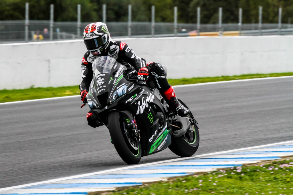 Rea marca la referencia de los pilotos de Superbike en los últimos test en el Circuito de Jerez