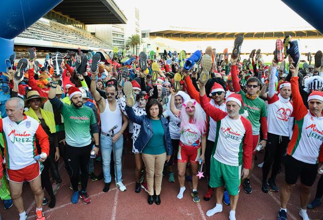 Éxito de la San Silvestre Maratón Jerez con más de 1.100 atletas
