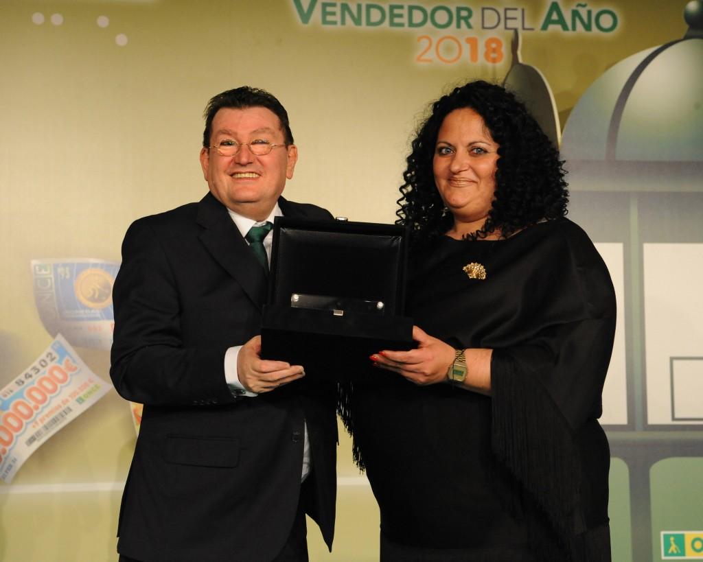 La jerezana Sonia Romero, elegida mejor vendedora de la ONCE 2018 en Cádiz
