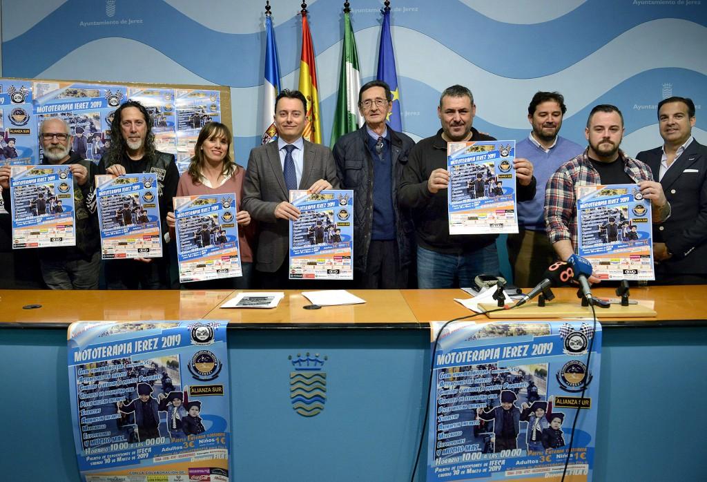 Cientos de moteros de toda Andalucía participarán en Jerez el 30 de marzo en la edición de Mototerapia