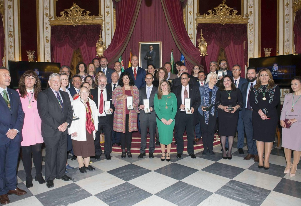 Diputación reconoce 12 trayectorias ejemplares con la Medalla de la Provincia de Cádiz