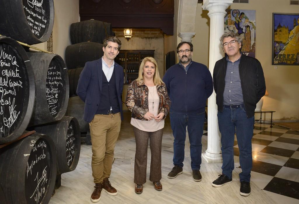 La serie sobre el libro 'La Templanza' se rodará próximamente en Jerez