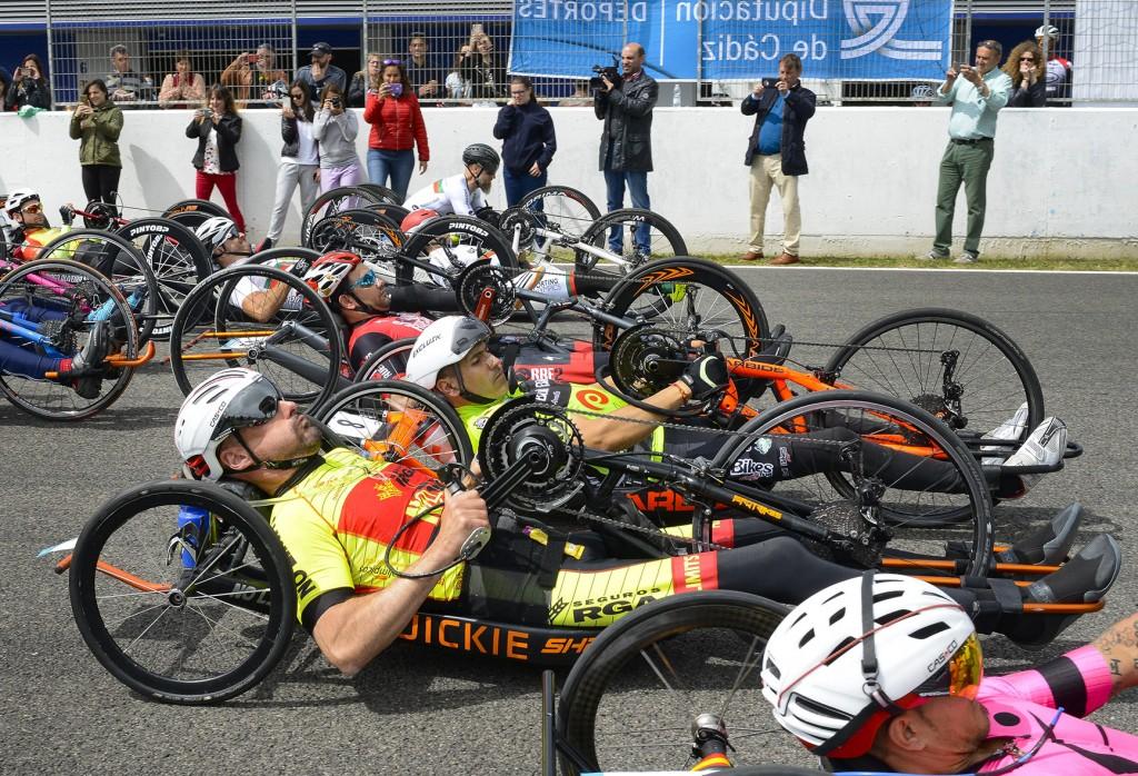 El V Gran Premio 'Hand-Bike Jerez' contó con más de 500 participantes