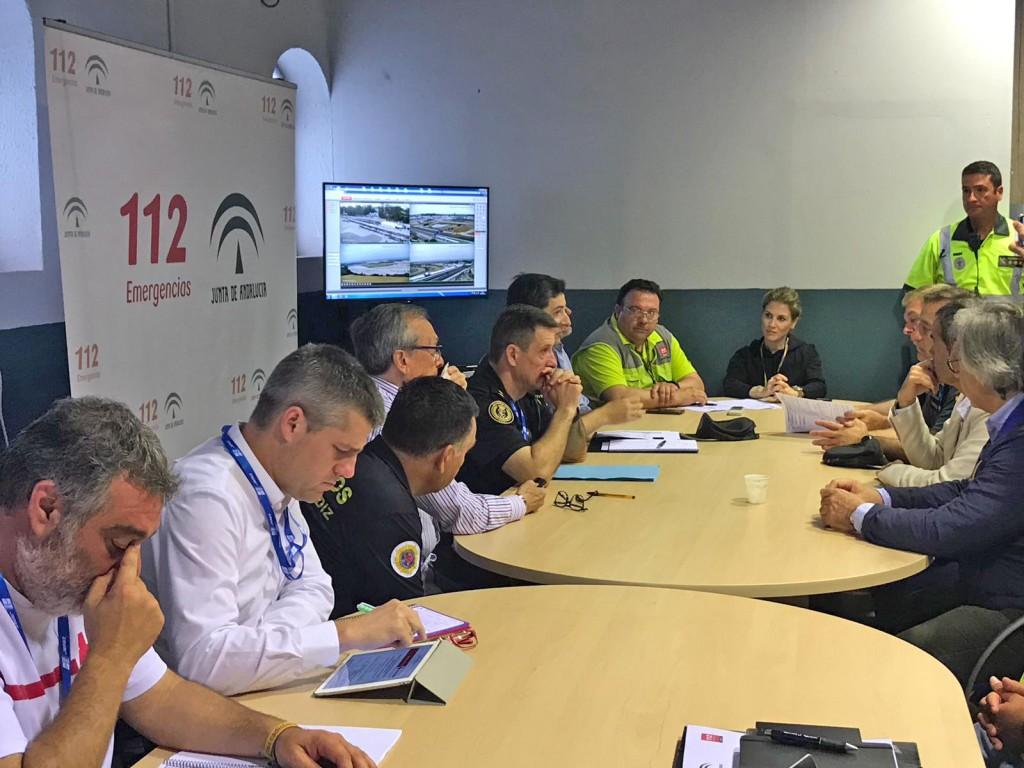 Emergencias 112 atiende 73 incidencias en las primeras horas del Gran Premio