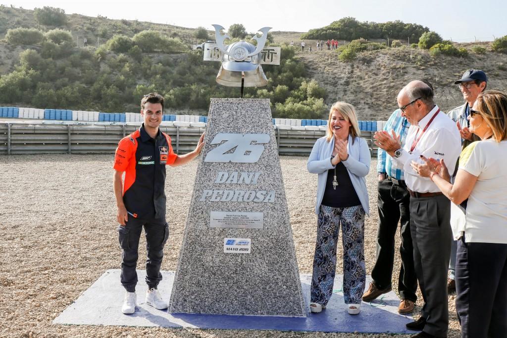 Pedrosa ya tiene su curva en el Circuito de Jerez
