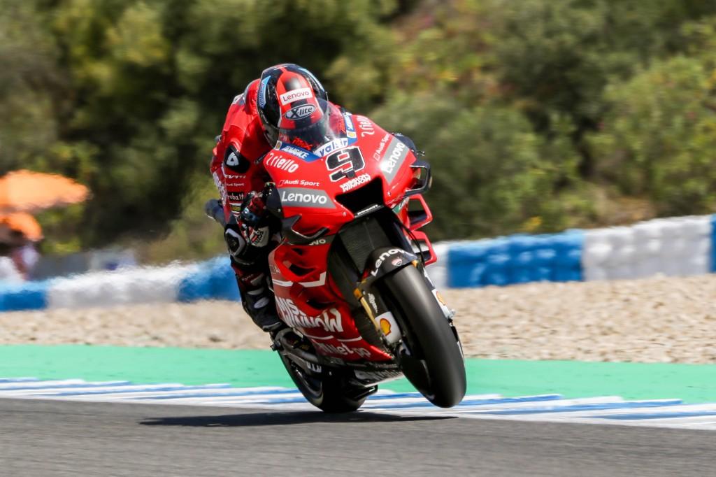 Las Ducati de Petrucci y Dovizioso dominan en los primeros entrenamientos