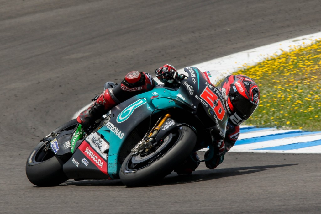Fabio Quartararo destroza en el test post Gran Premio el tiempo que le valió la pole en MotoGP