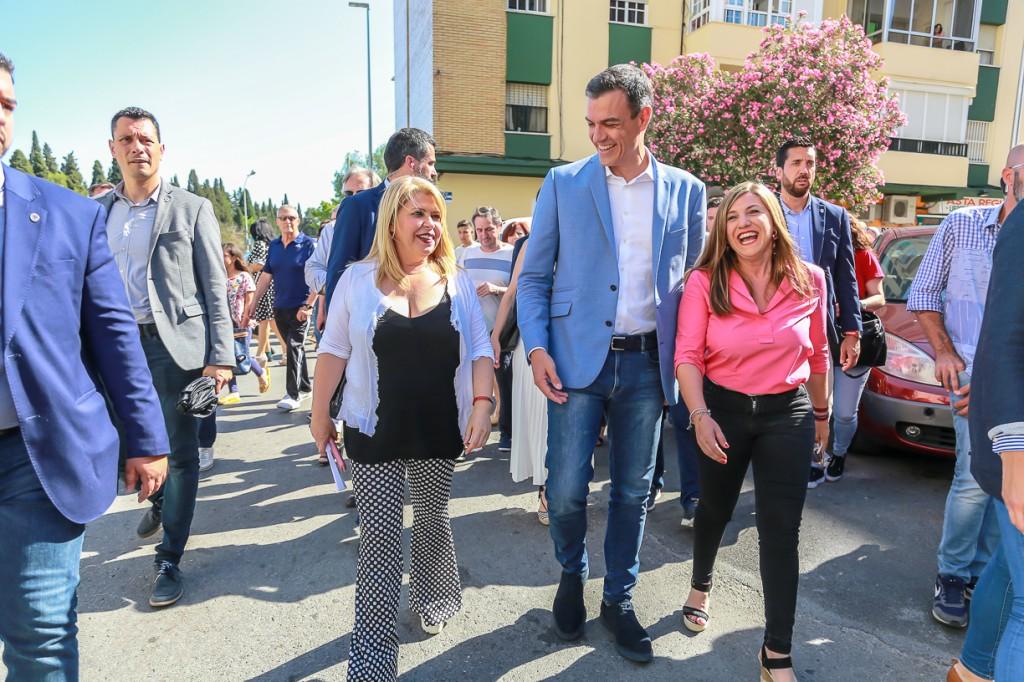 Mamen Sánchez agradece el apoyo del Presidente a su candidatura y a Jerez