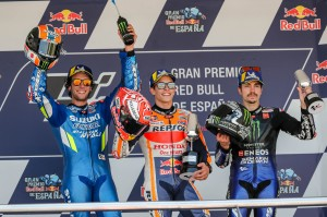 podio español moto gp 2019