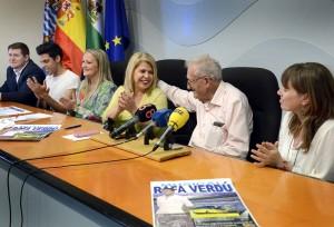 Alcaldesa _ rueda de prensa _ musical Rafael Verdu _1