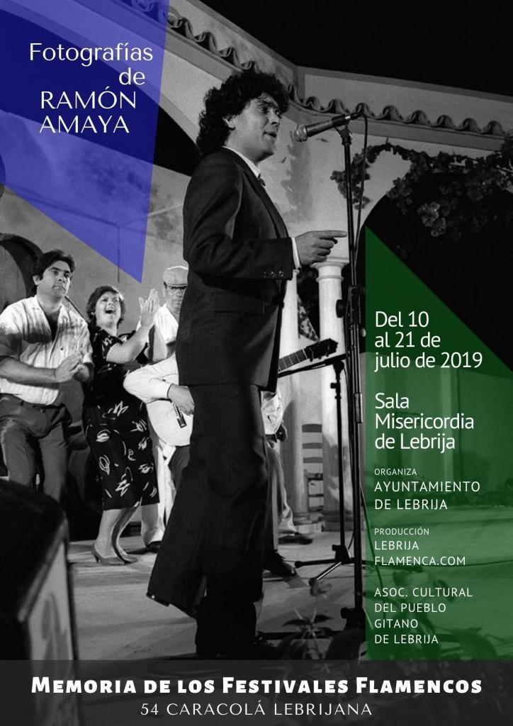 La 54ª Caracolá Lebrijana contará con la exposición 'Historia de los Festivales Flamencos', de Amaya