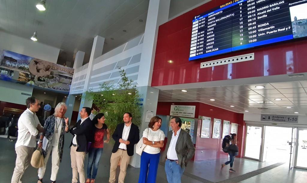 Inversión de 138.000 euros para la Estación de Autobuses de Jerez