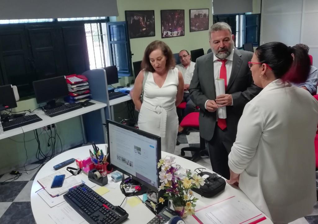 Guadalinfo forma y equipa al CAPI Distrito Norte de Jerez para dar talleres con drones