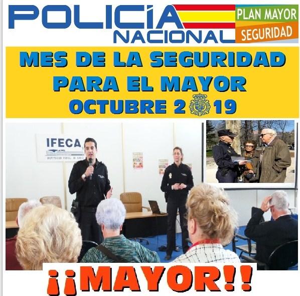 Octubre, el 'Mes del Mayor' para la Policía Nacional en Jerez