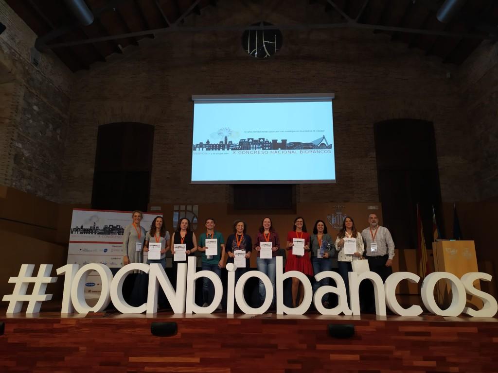 El Biobanco del Sistema Sanitario Público de Andalucía, premiado en Valencia