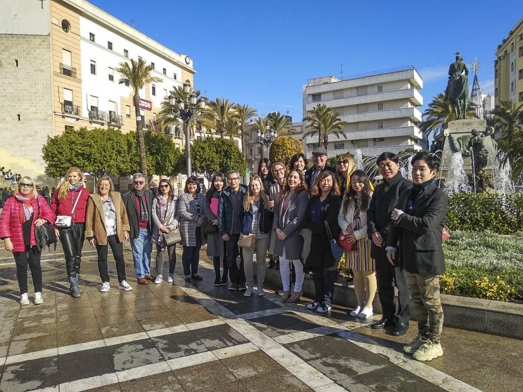 Una veintena de profesores de español de diversas nacionalidades conoce la provincia