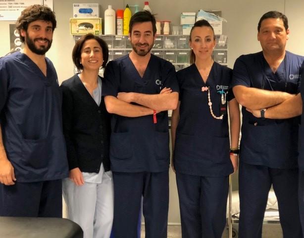 El doctor Trinidad, de HLA Jerez, pionero en el tratamiento del dolor crónico por neuroestimulador