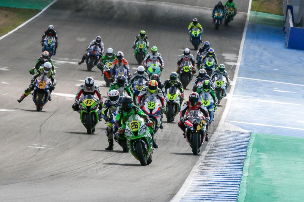 El Circuito inicia su temporada de competición con el certamen Andaluz de motociclismo