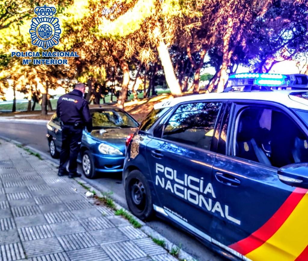 Detenido por darse a la fuga en un control policial y llevar 47 posturas de hachís