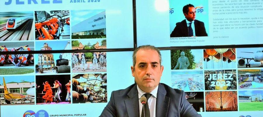 El Partido Popular de Cádiz pide a Antonio Saldaña que deje sus cargos públicos