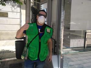 José Miguel Díaz, vendedor de la ONCE en Málaga5