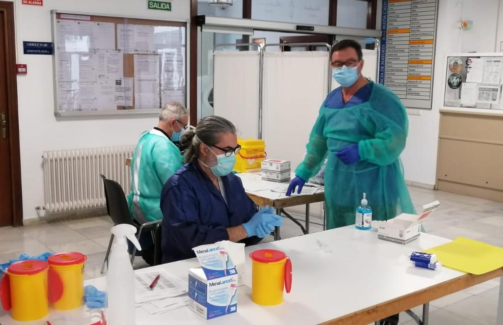 Salud realizará más de 8.500 test rápidos a policías locales de los pueblos andaluces