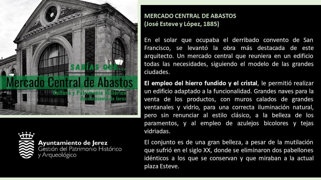 La historia del Mercado de Abastos de Jerez