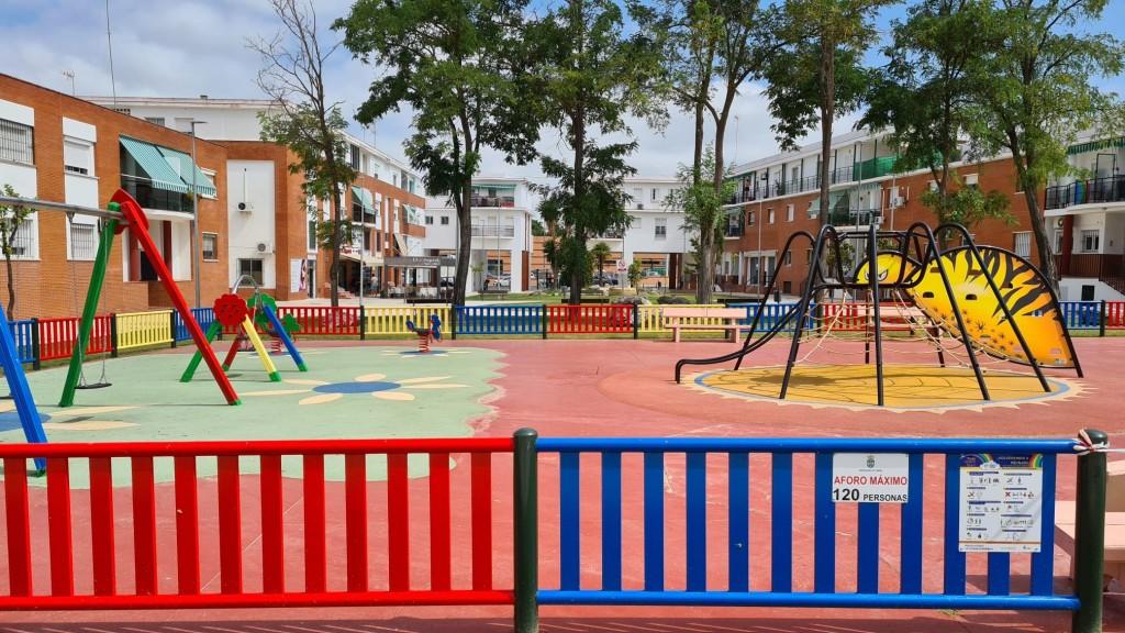 Reapertura de los parques infantiles con un protocolo diario de limpieza y desinfección