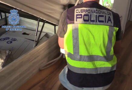 Detenidas 16 personas en una operación internacional contra el tráfico de drogas