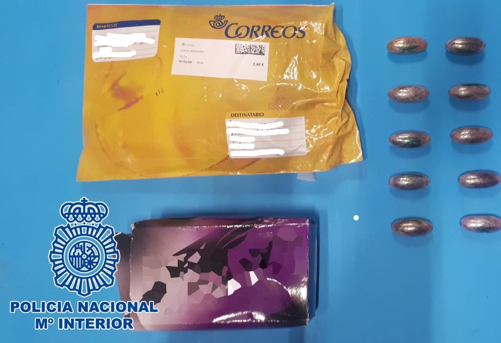 La Policía interviene en Jerez doce paquetes postales con sustancias estupefacientes