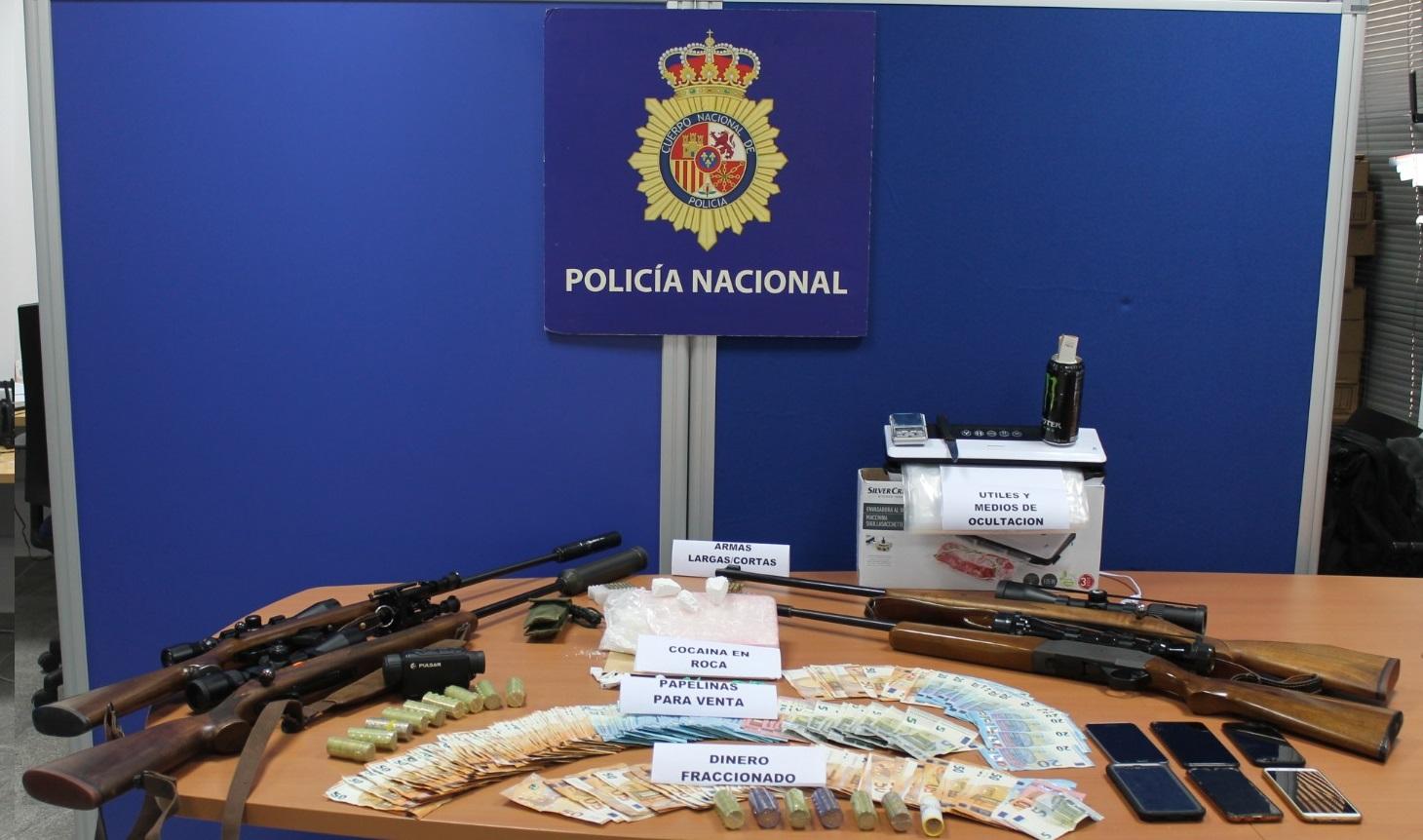 Desarticula la mayor red de distribución de cocaína que operaba en la Sierra de Cádiz