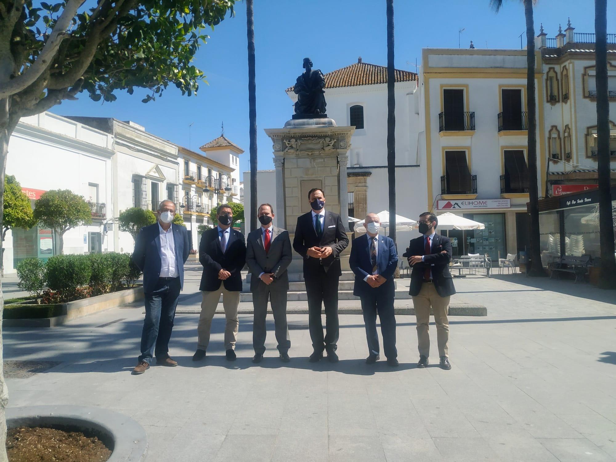 La Universidad Internacional de Andalucía, en los actos por la muerte de Elio Antonio