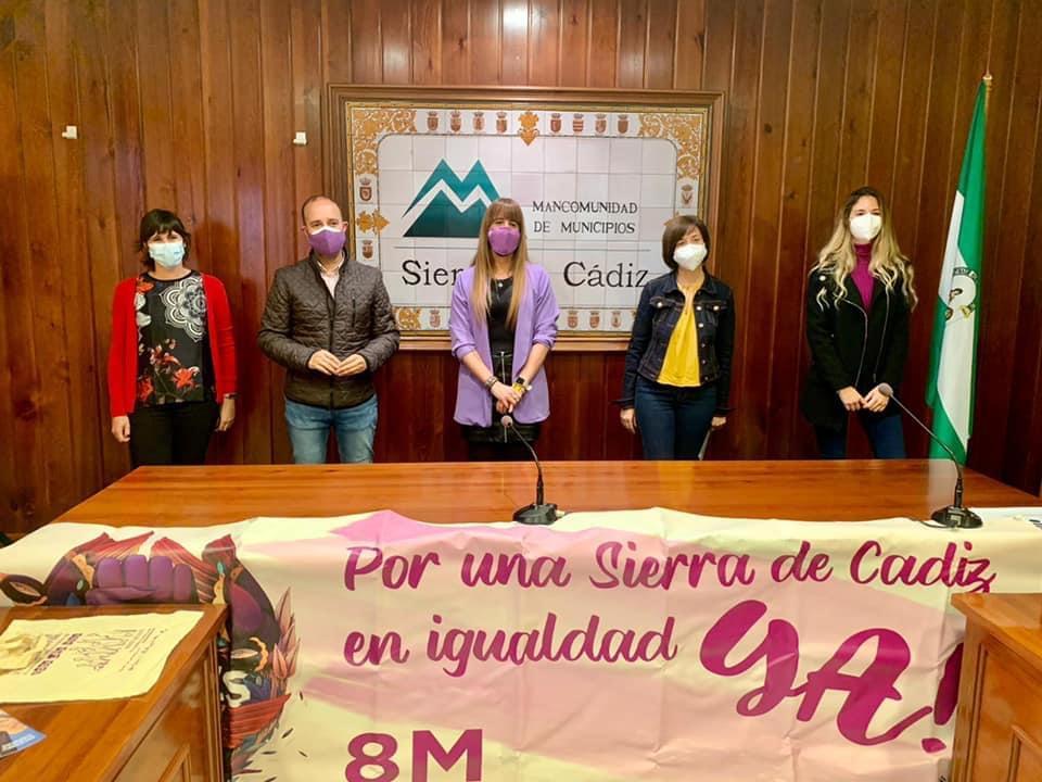 La Sierra de Cádiz también conmemora el 8M