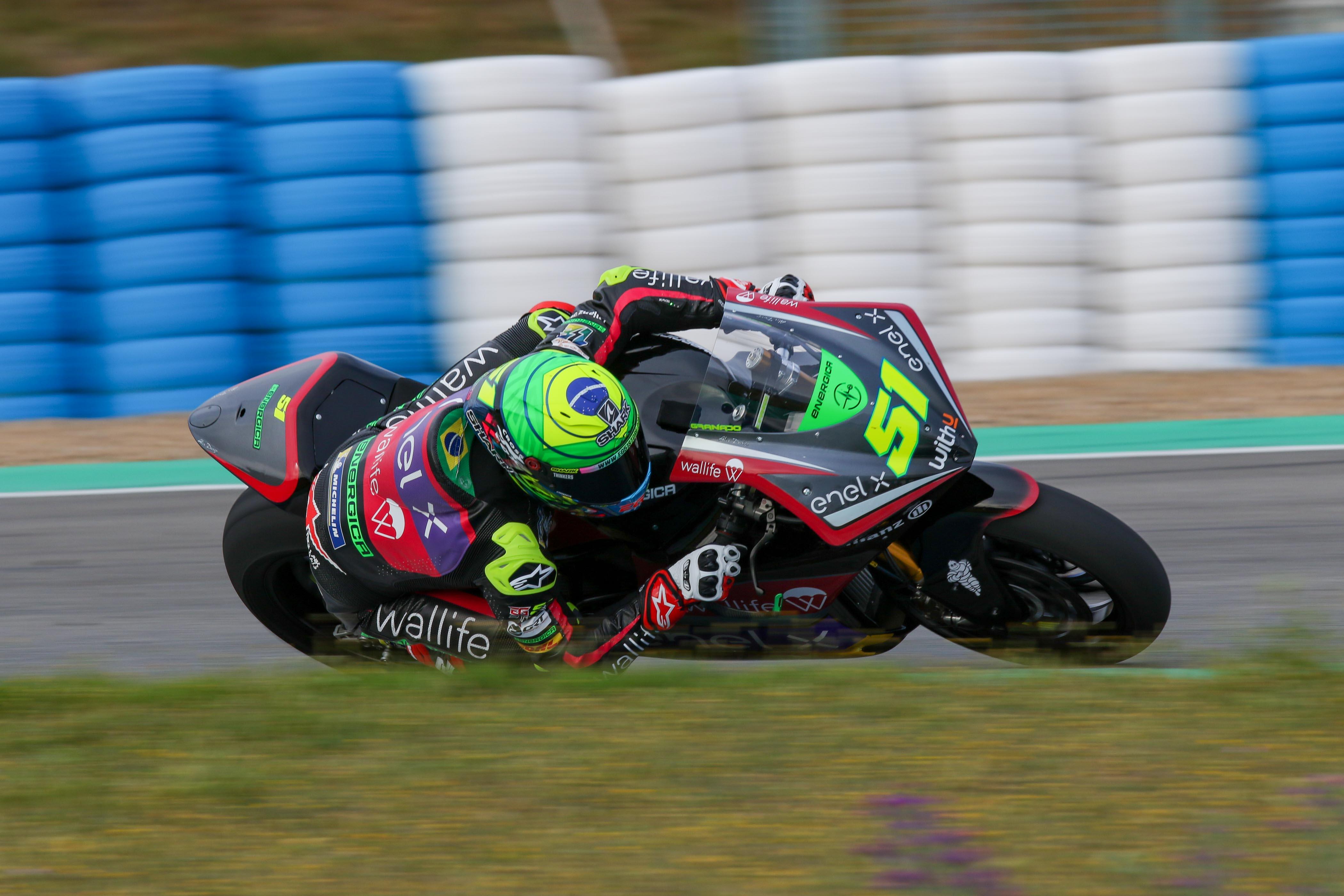 Eric Granado se marcha de Jerez hasta el Gran Premio con el mejor tiempo del día y de los test