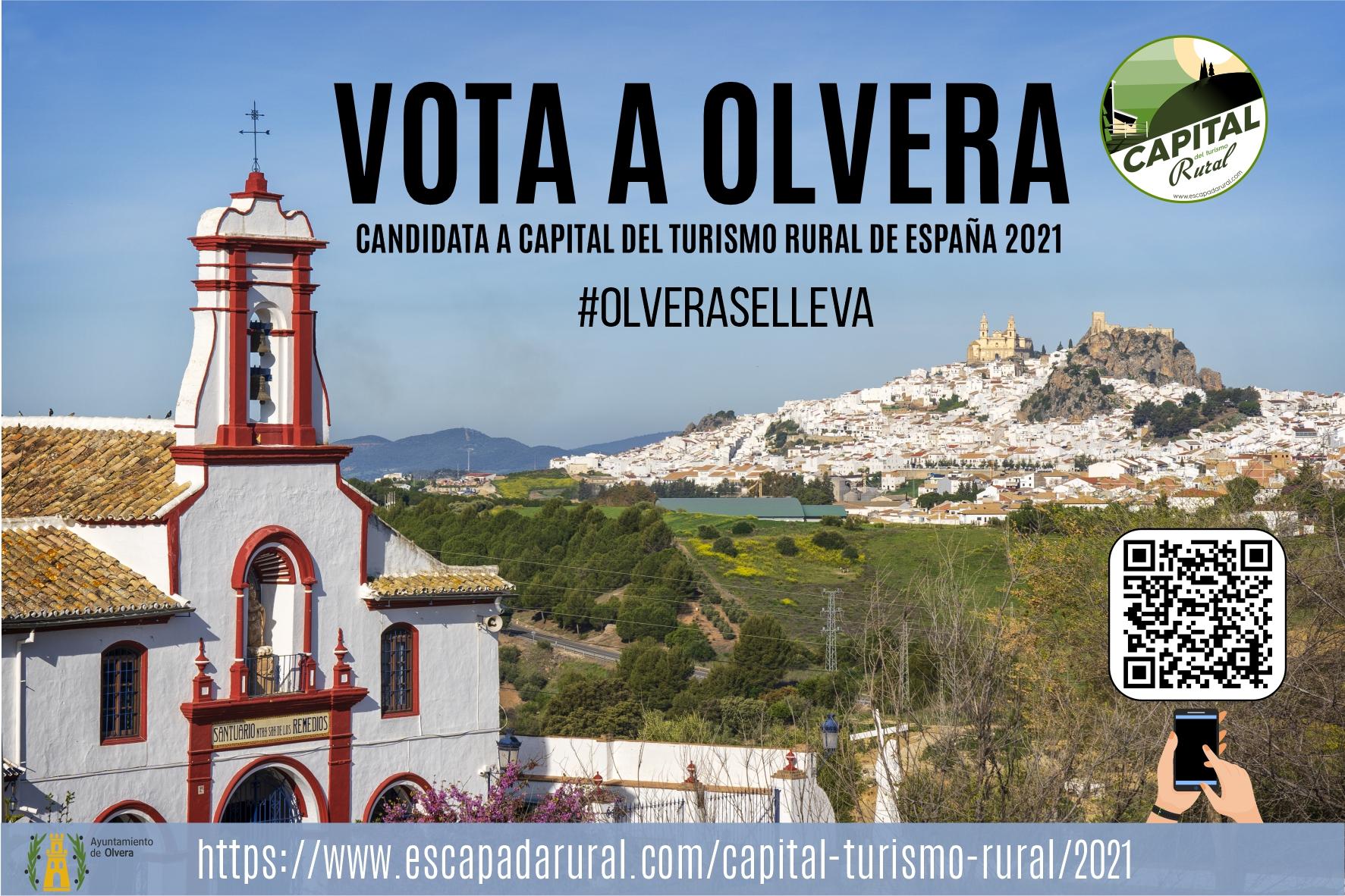 Olvera, entre los diez pueblos finalistas para convertirse en Capital del Turismo Rural