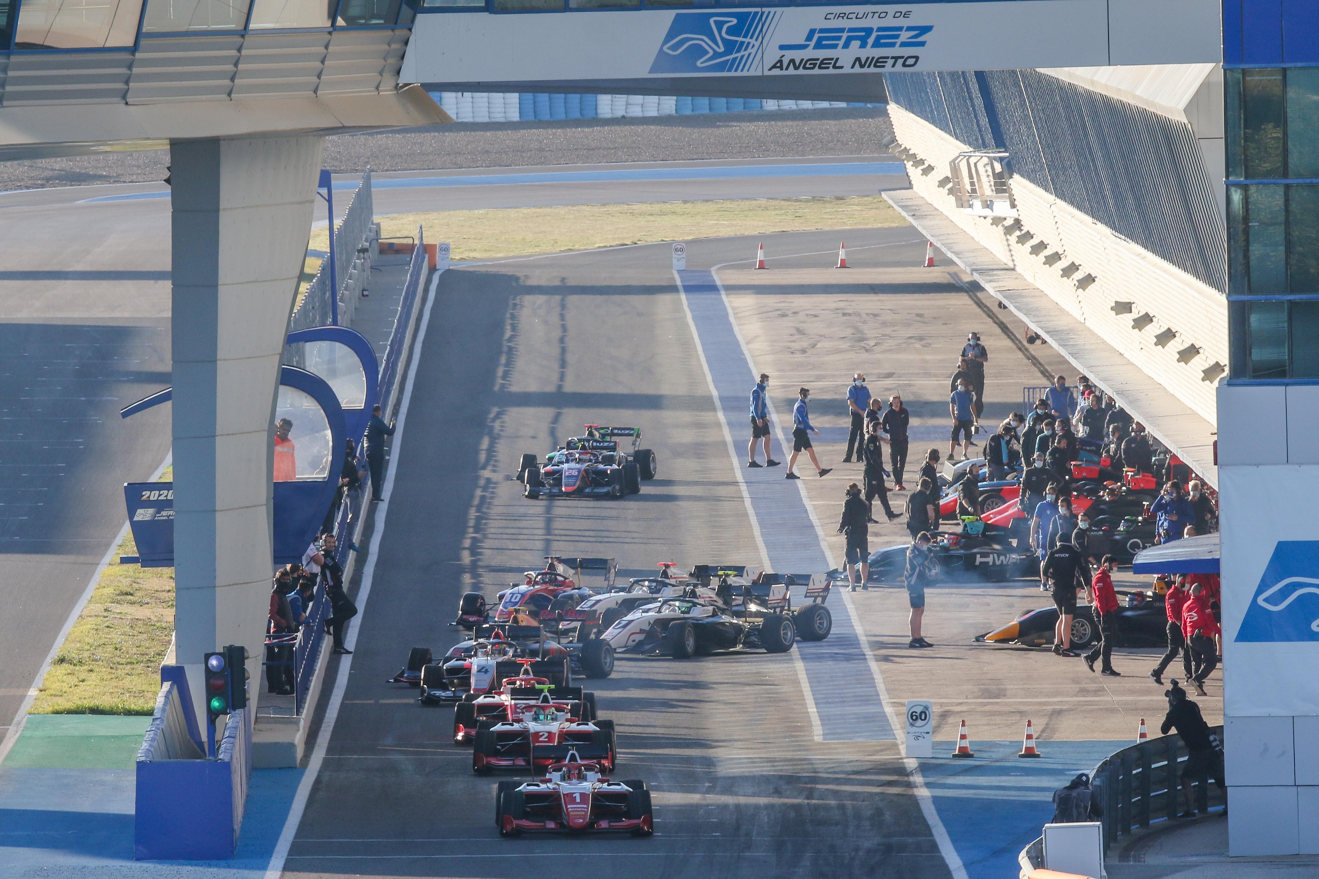 La FIA F3 se da cita este miércoles y el jueves para dos jornadas de test oficial