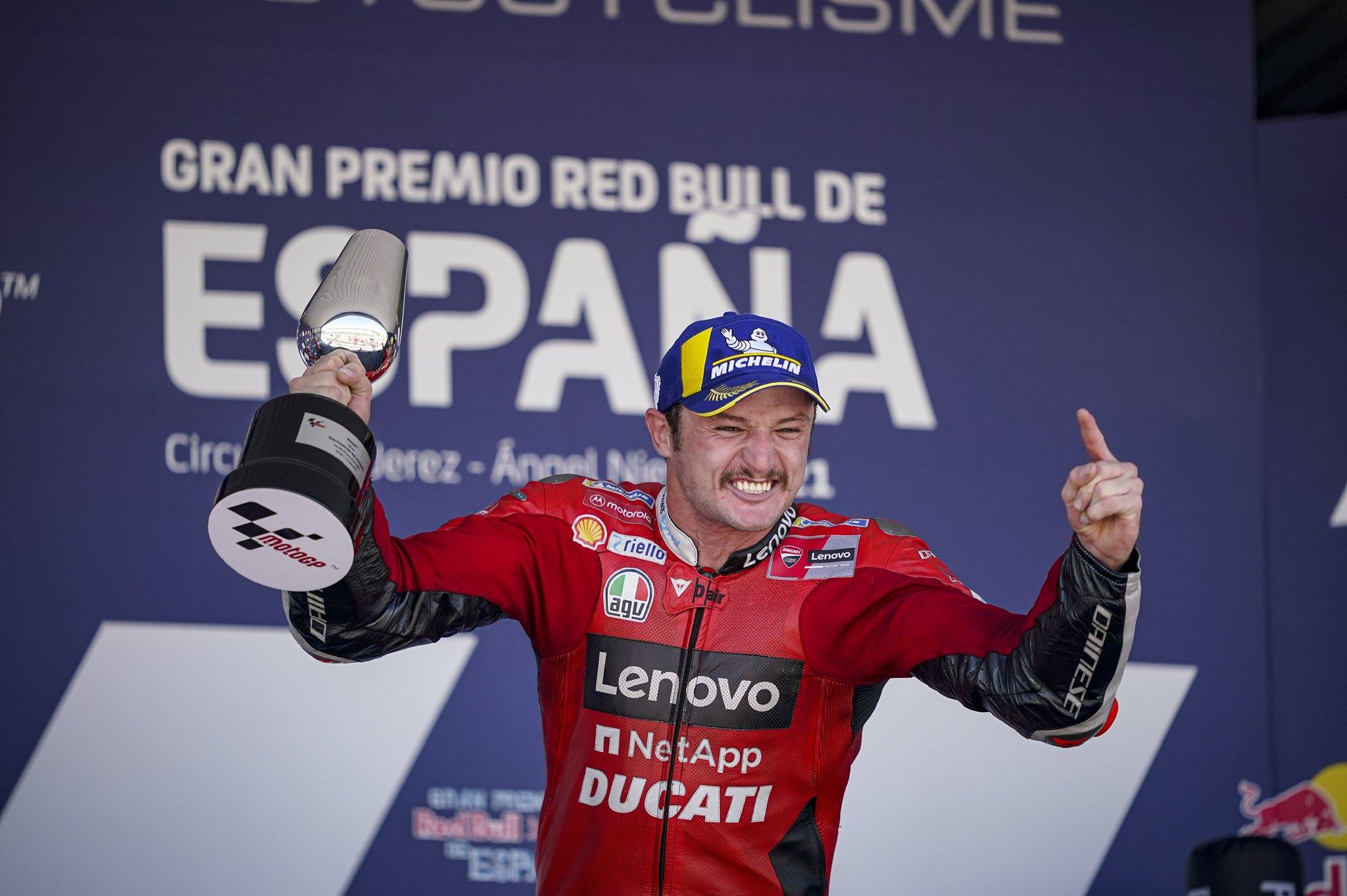 Jack Miller conquista el Gran Premio Red Bull de España de MotoGP